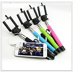 pas besoin bluetooth extensible poche monopode téléscopique auto-portrait pour iPhone et autres téléphones