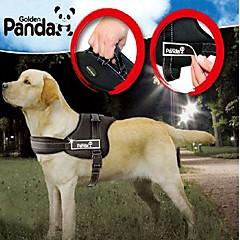 Kutyák Hevederek Állítható/Behúzható / Kosaras Piros / Fekete Nejlon