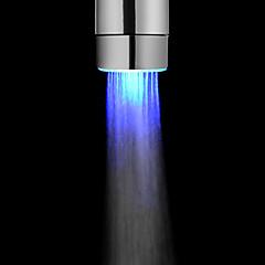 Battery-Free Blue Color LED Faucet Light for Kitchen Bathroom