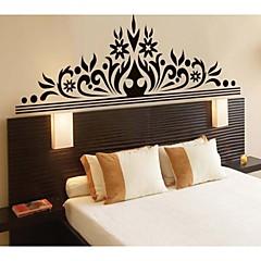 svart Corolla utsökta dekorativa väggdekorationer