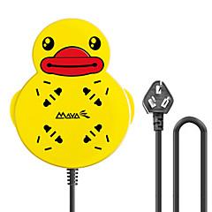 maya d460p gele eend uitbreiding socket met 1,8 gb plug ac voedingskabel
