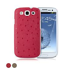 glamour ggmm® plus-s estojo protetor genuíno capa de couro para Samsung Galaxy SIII (cores sortidas)