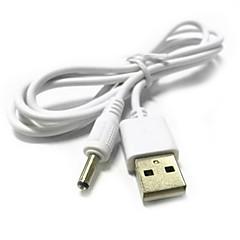 USB 2.0 o la 3.5mm baril jack conector DC cablu de alimentare de 1m 3.3ft