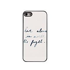 amare caso design in alluminio solo per iPhone 5 / 5s