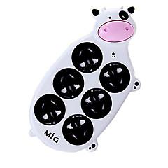 mig sp-6119a koe uitbreiding socket met 2m gb plug ac voedingskabel