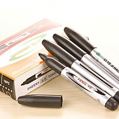 Large and Black Sheeny Marker Pen