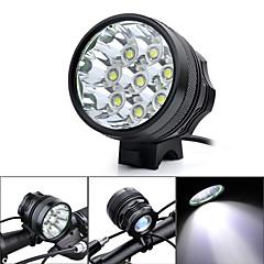 Linternas de Cabeza / Luces para bicicleta (A Prueba de Agua / Recargable / Resistente a Golpes / De alta potencia) - LED 3 Modo