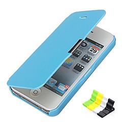 iPhone 5/5S iPhone - Custodie integrali - per Design speciale (Rosso/Nero/Bianco/Blu/Rosa , Similpelle/Plastica)
