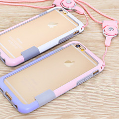Lanyard Frame Mobile Phone Case for iphone 6(Assorted Colors)