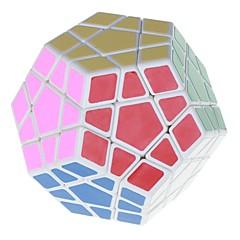 Jouets Shengshou® Cubes magiques Megamix Vitesse magic Toy Cube de vitesse lisse Magic Cube Puzzle Blanc ABS