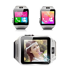 GV08 Wearables Smart Watch , Camera Message Media Control/Hands-Free Calls/Sedentary remind/Pedometer for Android/iOS