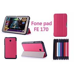 """asus fonepad 7fe170cg tablet case tilfælde med stativ / fuld krop sager 7 """"til Asus faste farver (assorteret farve)"""
