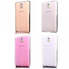 Super joustava KRISTALLINKIRKAS yksinkertaiset tpu pehmeä läpinäkyvä takakannessa kotelo Samsung Galaxy Note 3