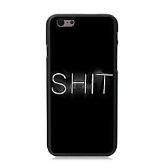 SHIT Design PC Hard Case for iPhone 7 7 Plus 6s 6 Plus