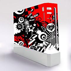 b-skin® couverture d'autocollant de protection autocollant de contrôleur de la peau de la console wii