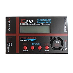 LXM-03  C610DC 120W DC 11-18V With LCD Screen Universal Lipo Battery Balance Charger