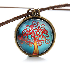Vilam® Peace Tree Fire Tree Time Gem Cabochon Necklace