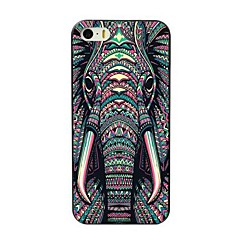 Mert iPhone 7 tok / iPhone 7 Plus tok / iPhone 6 tok / iPhone 6 Plus tok / iPhone 5 tok Minta Case Hátlap Case Elefánt Kemény TPU mert