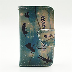 Genius Pattern PU Leather Full Body Case with Card Slot and Stand for iPhone 4/4S