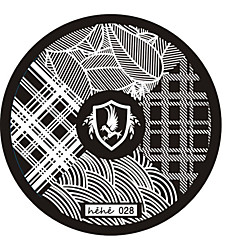 Nail Art Stamp Stamping Image Template Plate hehe Series NO.28