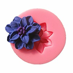 Mini Flower Fondant Cake Molds Chocolate Mould For The Kitchen Baking Cake Tool Decoration