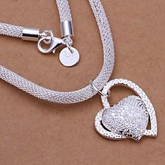 Bruiloft/Feest/Dagelijks/Causaal - Hangertjes ketting ( Sterling zilver , 1pc )