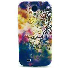 Samsung S4 I9500 - Baksida - Grafisk/Rutmönster/Tecknad Serie/Coola Skulls/Specialdesign - Samsung Mobiltelefon ( Multifärgad , Plast/Silikon )