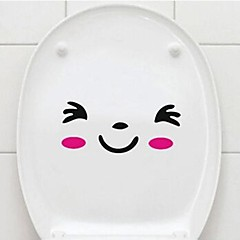 multifunctionele pvc decoratieve wc stickers