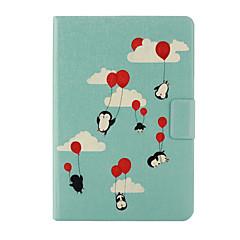 Pinguin-Muster PU-Leder Ganzkörper-Fall mit Ständer für iPad mini 1/2/3