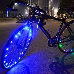 Eclairage de Velo , Ampoules LED - 1 Mode 400 Lumens Couleurs changeantes USB Cyclisme/Vélo Blanc Vélo NO