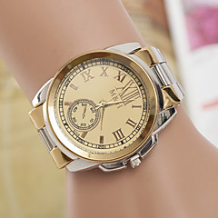 Женские Модные часы Кварцевый Металл Группа Серебристый металл бренд-