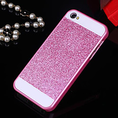 bling solide paillettes au dos du boîtier de protection pour iPhone 5 / 5s (couleurs assorties)
