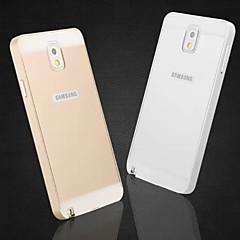 erityinen muotoilu yksivärinen metallinen takakansi ja puskurin Samsung Galaxy huomautus 3