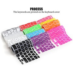 lention pele capa mole durável teclado de silicone para laptop Apple MacBook Air MacBook Pro 13/15/17 (cores sortidas)