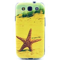 søstjerne mønster ultratynde TPU blød taske til Samsung Galaxy S3 i9300