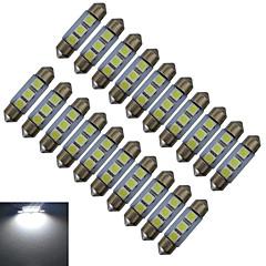 1W Festoon Oświetlenie dekoracyjne 3 SMD 5050 60lm lm Zimna biel DC 12 V 20 sztuk