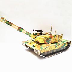 DIY Tank Shaped 3D Puzzle
