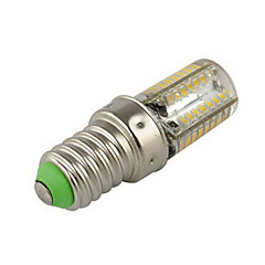 1 pcs E14 2.5W 64X SMD 3014 250LM 2800-3500/6000-6500K Warm White/Cool White Corn Bulbs AC 220V