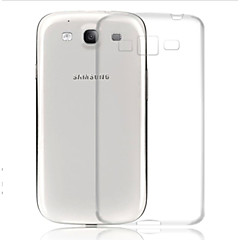 Transparent Silicone Back Cover for Samsung S3 I9300