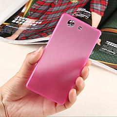 Ultrathin 0.3mm Colorful Scrub PP Case for Sony Xperia Z3 Compact/Mini  (Assorted Color)