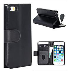 magia aleta spider® aberto pu carteira de couro da tampa do caso estar com protetor de tela para iphone 5 / 5s