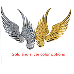 Jinpeng Wings Angel Wings 3D Stereo Reflective Metal Personalized Car Stickers Car Universal