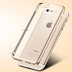 iPhone 6 - Per retro - per Transparente ( Nero/Dorato/Argento , Metallo )