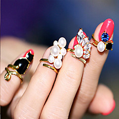Alloy Ring Midi Rings Wedding/Party/Daily/Casual 1pcs