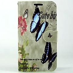 Για Θήκη Huawei / P9 / P8 / P8 Lite Πορτοφόλι / Θήκη καρτών / με βάση στήριξης tok Πλήρης κάλυψη tok Πεταλούδα Σκληρή Συνθετικό δέρμα