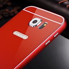 sileä metalli puitteet pc takakansi kovakantinen Samsung Galaxy s6