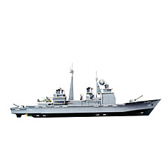 DIY Warship Shaped 3D Puzzle