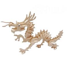 3 D Puzzle Dragon Model