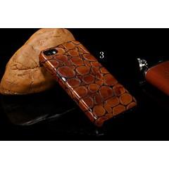 alta qualidade pangolim listra capa de couro da vaca real para iphone 5s