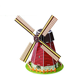 Educational Toys Puzzle Hand To Hold The Dutch Windmills